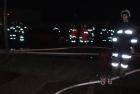 Brandeinsatz aufgrund von Brandstiftung