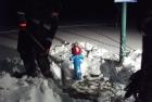 Hydranten vom Schnee befreien 17.01.2013
