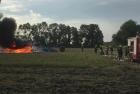 Traktorbrand am 28.07.2016