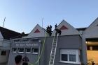 Übung mit Leitern und technische Abschnittsübung in Apetlon
