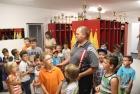 Volksschule zu Besuch im Feuerwehrhaus