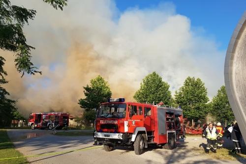 Wirtschaftsgebäudebrand 15.06.2017