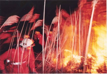Großbrand im Hansag