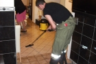 Einsatz nach Wasserrohrbruch