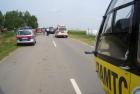 Verkehrsunfall zwischen Tadten und St.Andrä