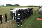 Verkehrsunfall mit LKW, L206 Tadten - St. Andrä