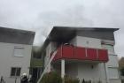 Zimmerbrand in Andau
