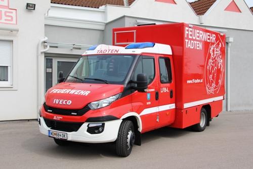 LFB-L, Löschfahrzeug mit Bergeausrüstung - Logistik
