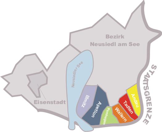 Abschnitt III, Bezirk Neusiedl am See