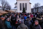 Advent im Dorf am Dorfplatz in Tadten
