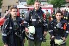Der Atemschutztrupp der FF Tadten nach der Übung