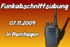 Funkabschnittsübung in Pamhagen