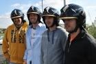 Gruppenfoto Dräger Website Wettbewerb - Helm