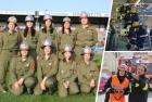 Damengruppe der FF Tadten - Sicherheitspreis 2015